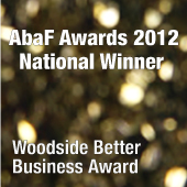 WoodsideBetterBusinessAward